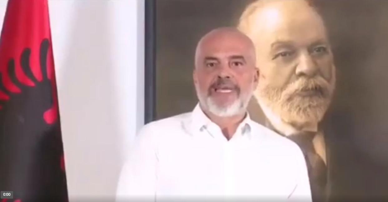 """Еди Рама подржао ДПС и Ђукановића: """"Хвала што постојиш драги Мило"""""""