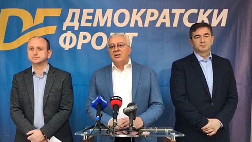 Демократски фронт: Подржаћемо сваку владу без ДПС-а