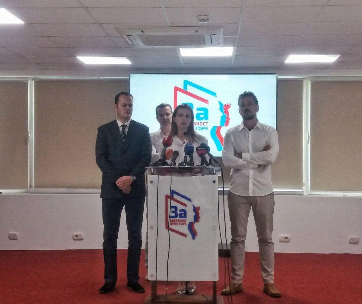 """""""За будућност Црне Горе"""": Имамо сазнања из безбједоносних структура да су у недељу могући инсценирани инциденти са трагичним посљедицама"""