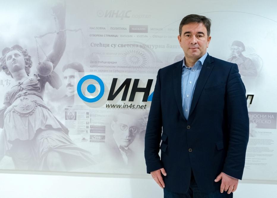 Медојевић: Поднећу оставку на место посланика након избора Владе