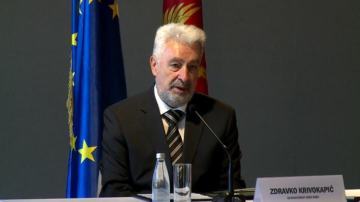 Кривокапић: Ни ја, нити кандидати за министре у будућој Влади нијесмо чланови политичких партија, нити ћемо то бити