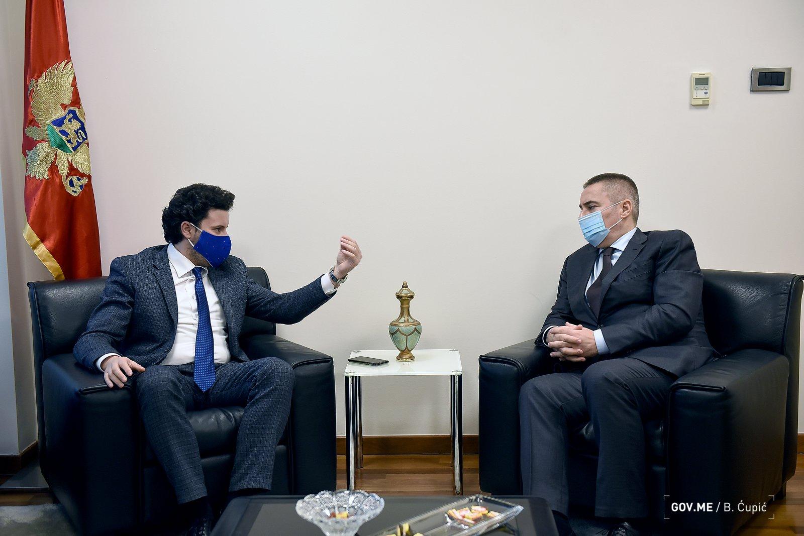 Директор Управе полиције Црне Горе напушта функцију