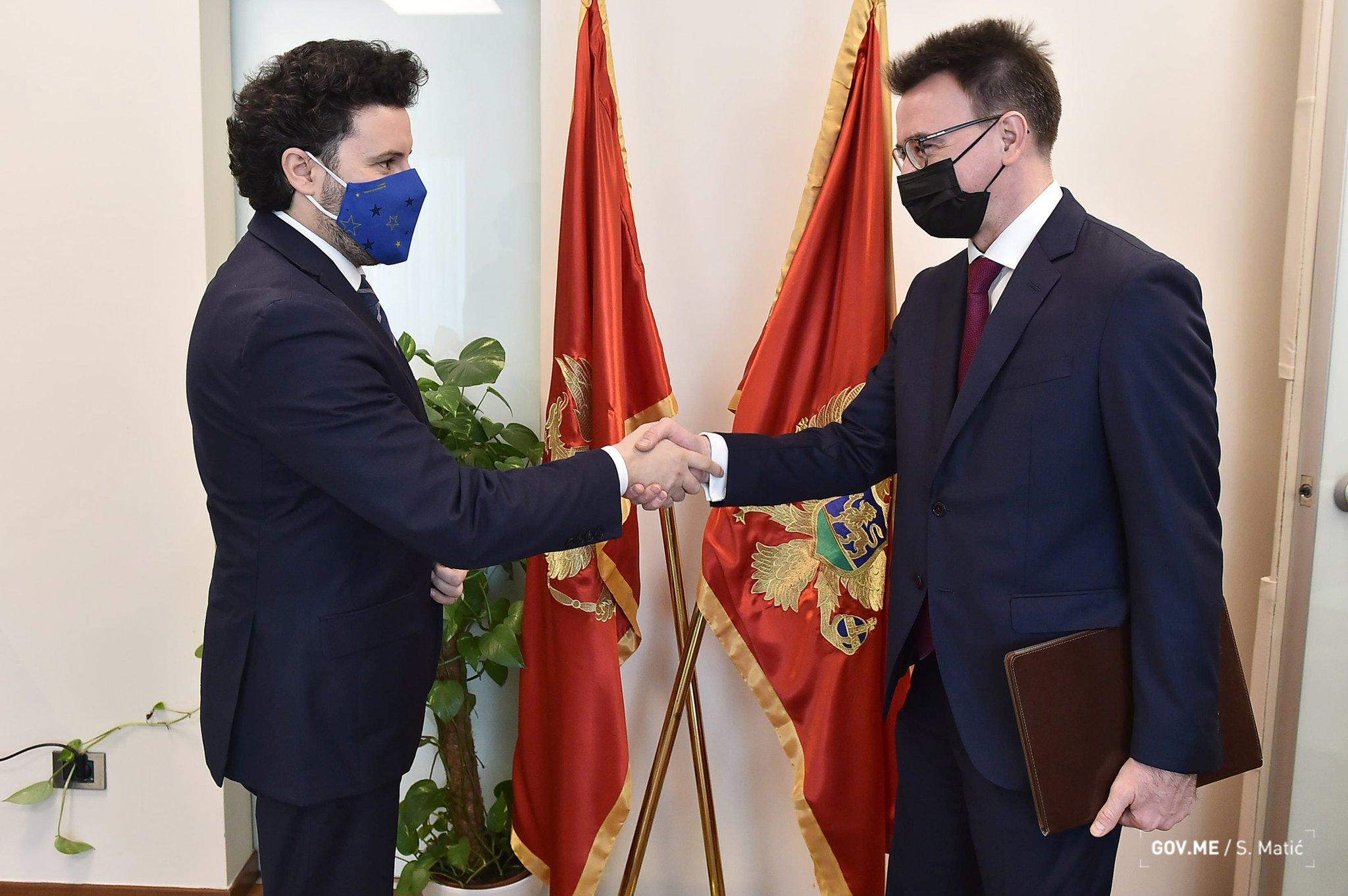 Абазовић: Црна Гора, упрокос свом евроатлантском курсу, жели коректну и плодоносну сарадњу са Руском Федерацијом.