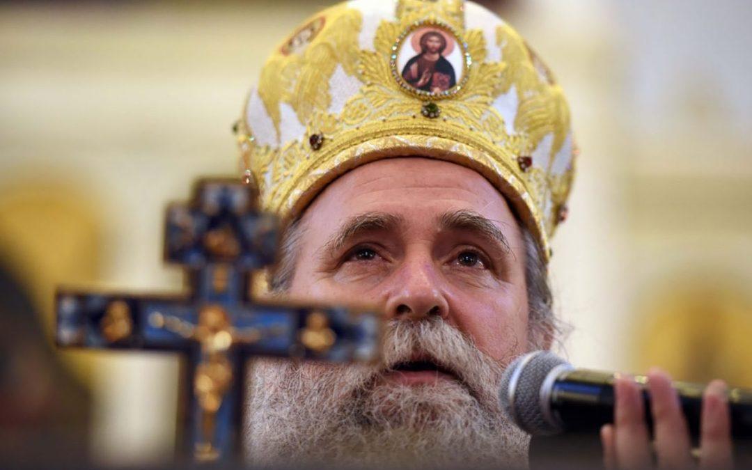 Владика Јоаникије у саборном храму у Подгорици: Све почиње из срца