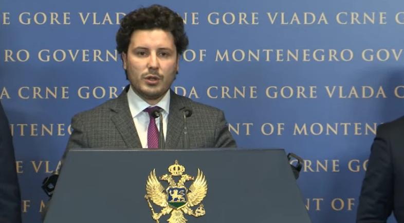Абазовић: Више је Срба било у косовској, него у црногорској влади