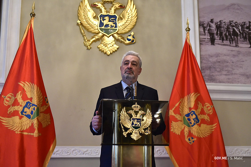 Кривокапић честитао Дан сржавности Србије