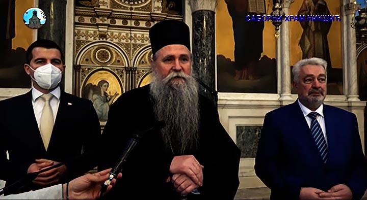 Премијер и предсједник Скупштине Црне Горе посјетили Епархију будимљанско-никшићку