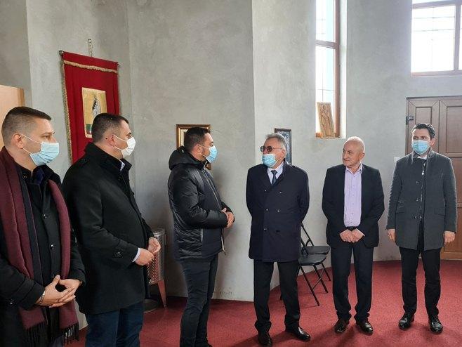 Калабухов: Манастир уједињује народе Русије и Републике Српске
