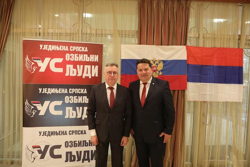 Стевандић и Калабухов разговарали о актуелном стању у Републици Србској и БиХ