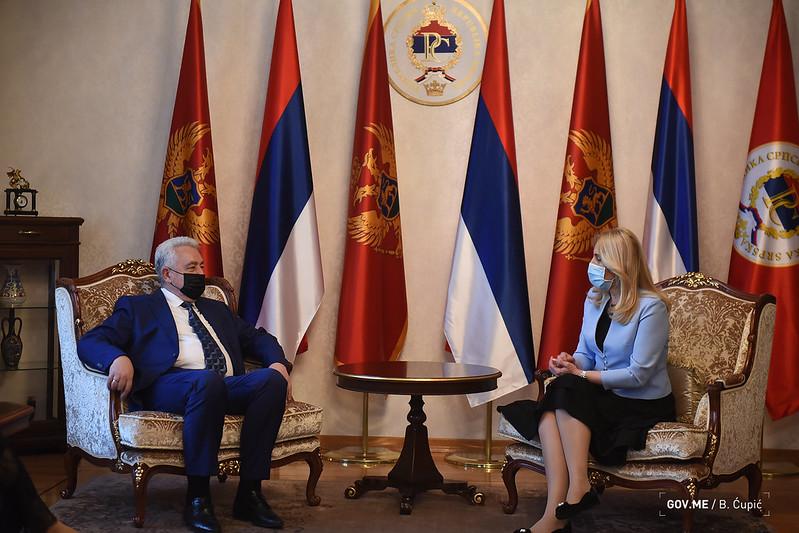 Kривокапић: Посјета Републици Србској нови заокрет
