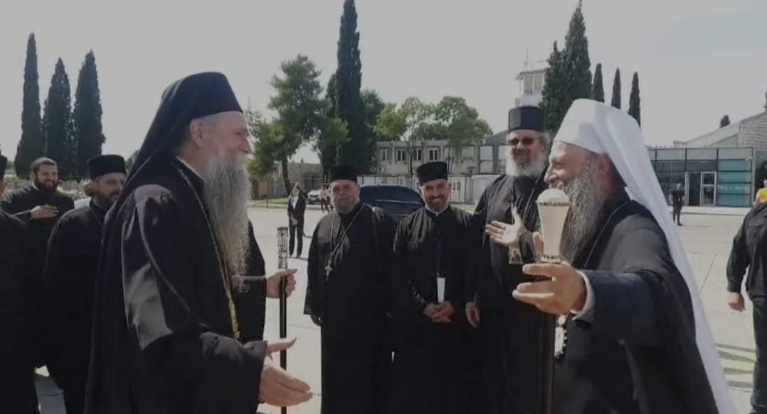 Патријарх Порфирије стигао у Црну Гору