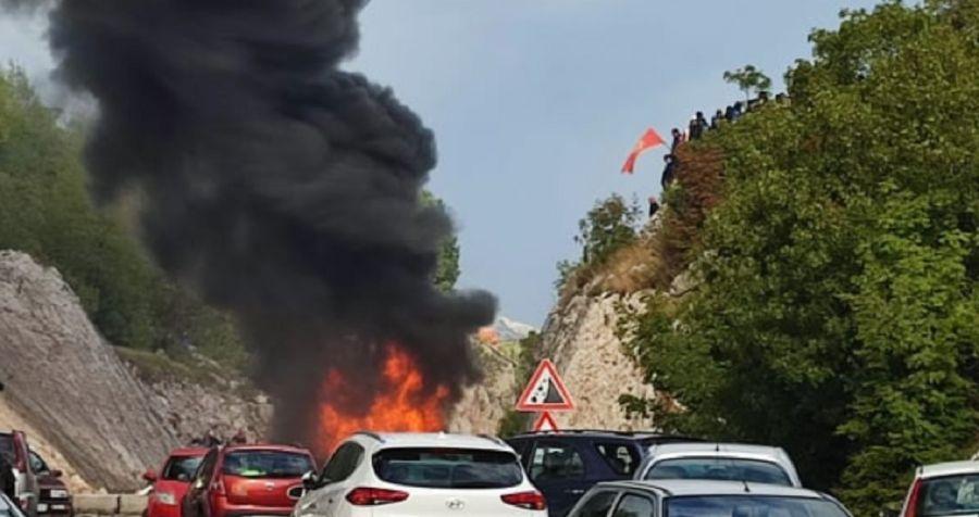 RTCG objavila audio snimak pucnjave na Cetinju tokom sukoba 5. septembra