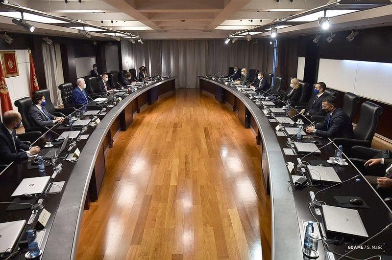 Демократски фронт и Демократе постигли договор о реконструкцији Владе Црне Горе