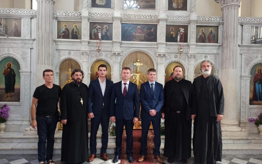 Арно Гујон посјетио Цркву Св. архангела Михаила на Белависти