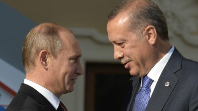 Путин и Ердоган позитивно оценили напоре у оквиру процеса преговора у Астани