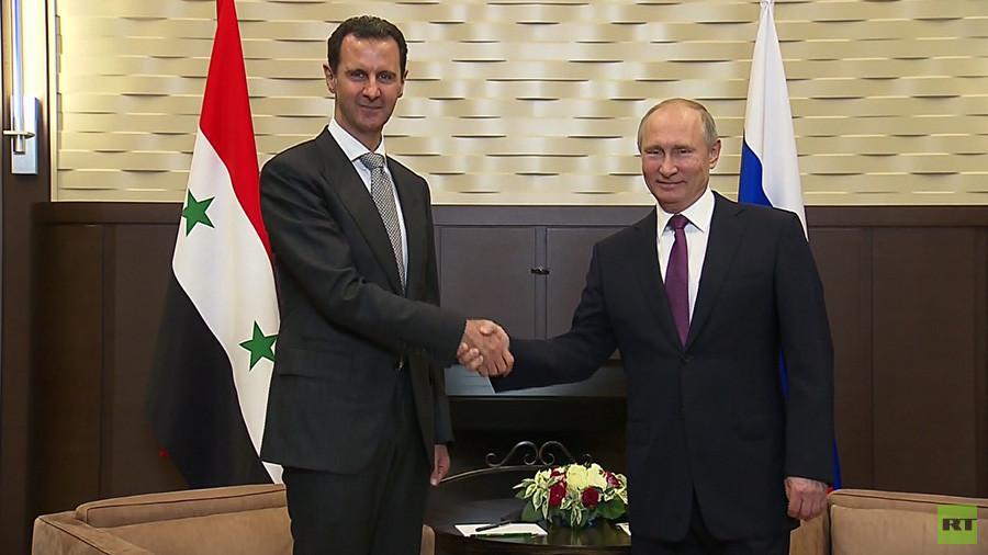 РТ: Борба против тероризма у Сирији се ближи крају - састанак Путина и Асада