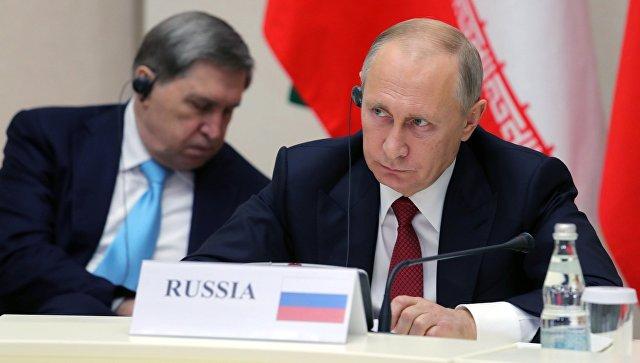 Путин: Судбину Сирије морају да решавају сами Сиријци