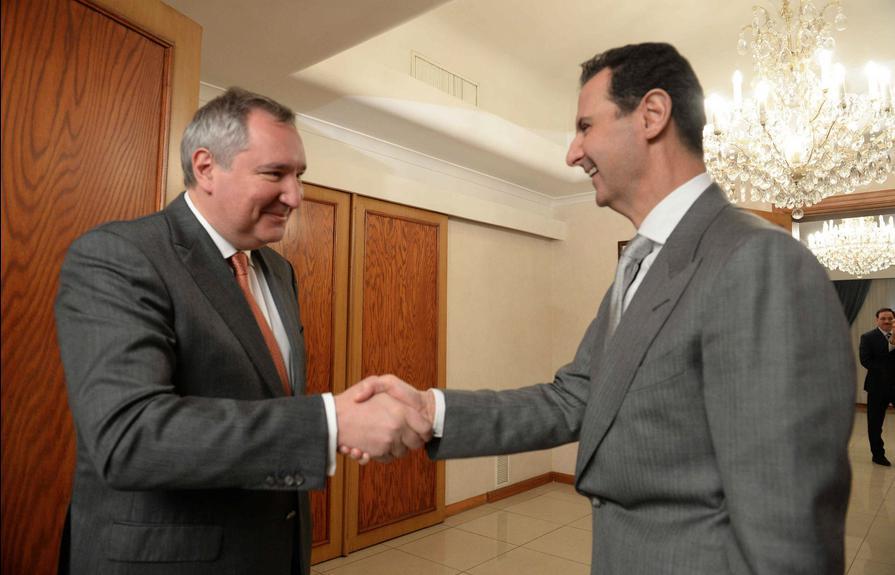 Рогозин и Асад разговарали о сарадњи двеју земаља