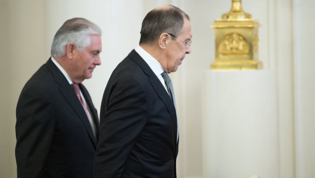 Lavrov i Tilerson razgovarali o situaciji u Siriji