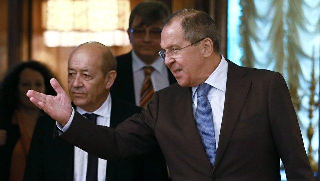 Лавров и Дријан разговарали о ситуацији у Сирији