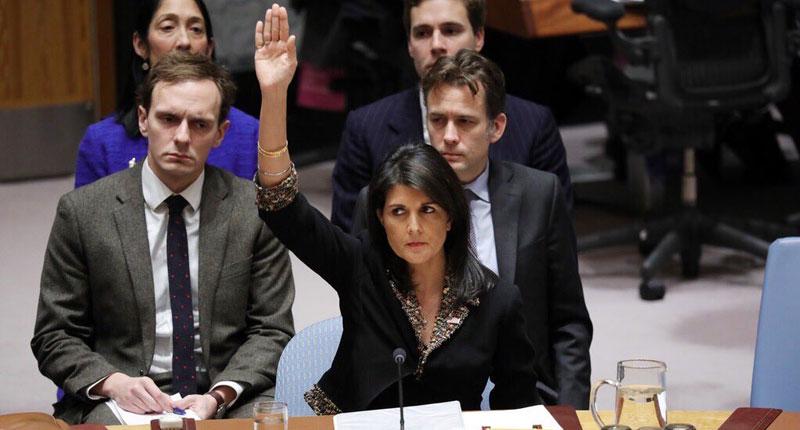 Небензја: Хелијева не може, а да не помене Русију у сваком говору