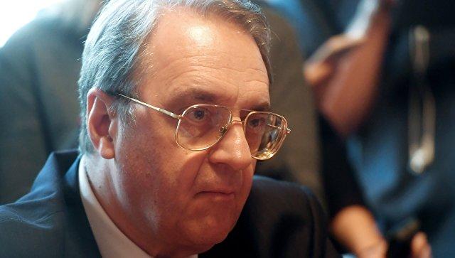 Богданов: Зоне деескалације у Сирији не би требало да постану зоне утицаја других земаља