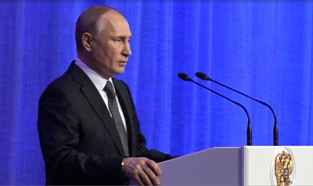 Председник Путин честитао Дан бранилаца отаџбине