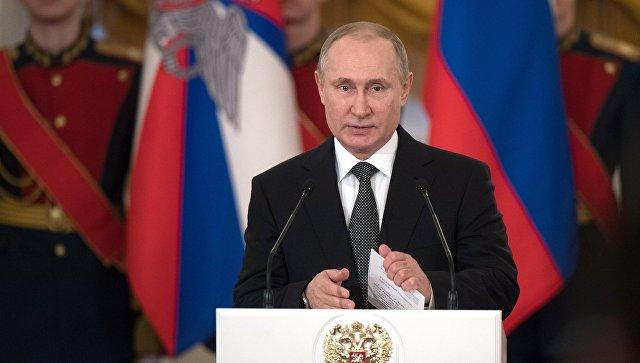 Путин: Јака армија обезбеђује мирни развој земље