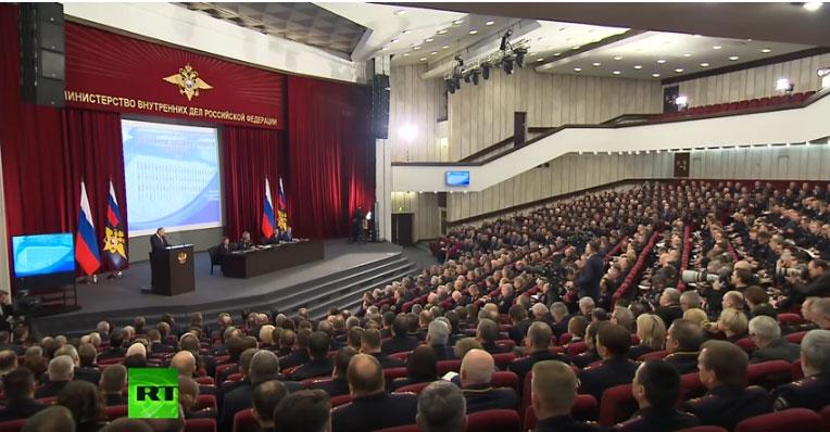 Путин: Активност екстремиста у 2017. године порасла за пет процената