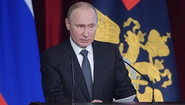 Путин: Русија ће наставити да развија војно-техничку сарадњу са свим заинтересованим земљама