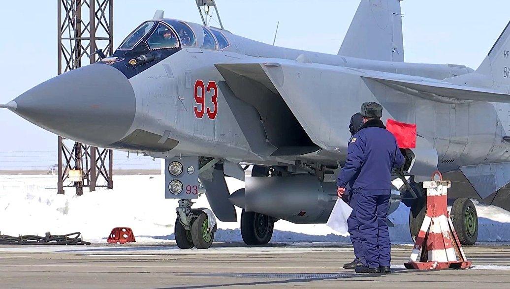 "Рогозин: Авион ""МиГ-31"" модернизован паралелно са ""Кинџалом"""
