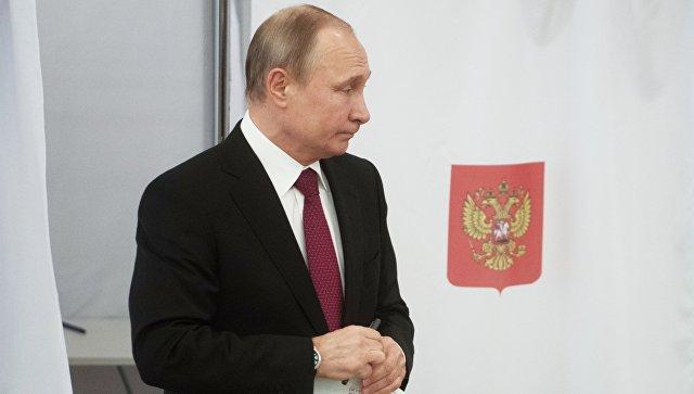 Путин гласао на изборима за председника