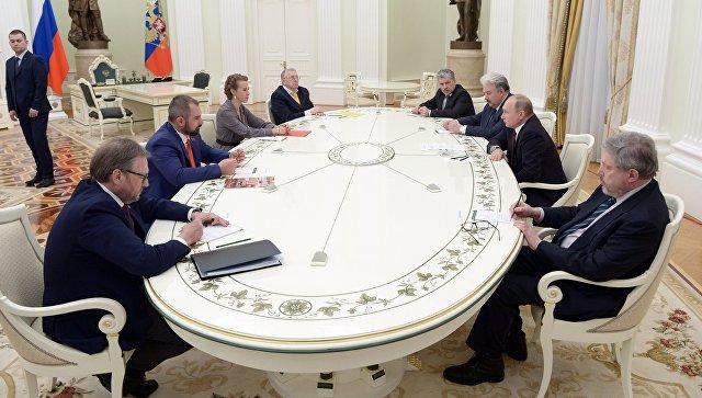 Putin pozvao predsedničke kandidate na dijalog