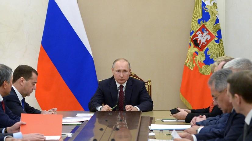 РТ: Путин разговарао са члановима Савета безбедности РФ о руско-британским односима