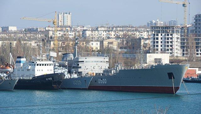 """У Државној думи одговорили на саопштење Кијева о """"жртвованој"""" флоти на Криму"""