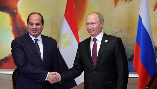 Путин честитао Сисију победу на председничким изборима