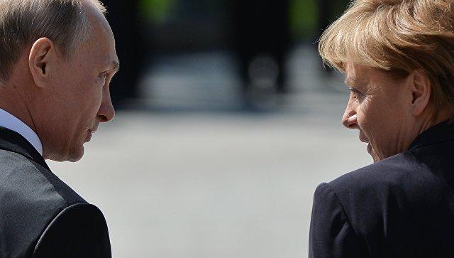 Путин и Меркелова разговарали о Украјини и Сирији