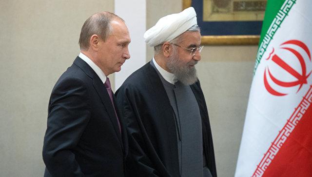 Путин и Рохани разговарали о ситуацији у Сирији