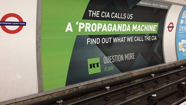 Лондон отворено притиска телевизију РТ - Амбасада Русије у САД-у