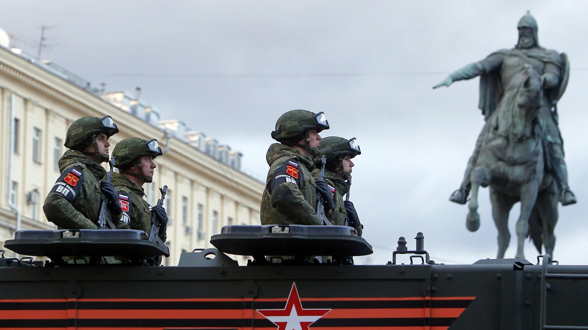 У Москви одржана прва проба овогодишње Параде Победе