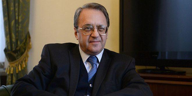 Богданов са Сјаојаном разговарао о ситуацији у Сирији