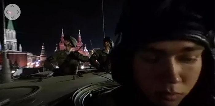 Видео 360: Ноћна проба за Параду победе