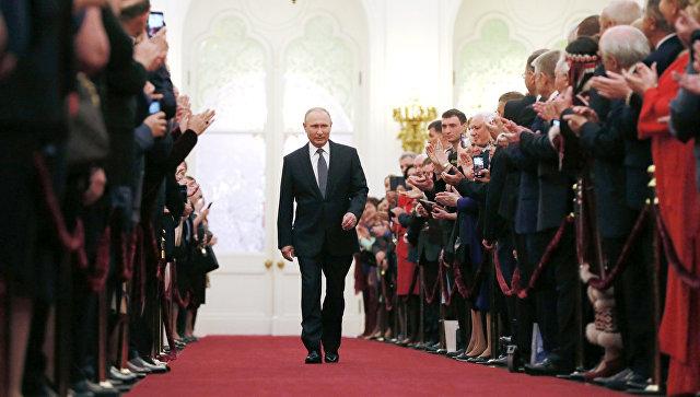 Путин: Циљ мог живота и рада је служење људима, нашој отаџбини
