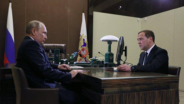 Путин потписао указ о структуре нове владе