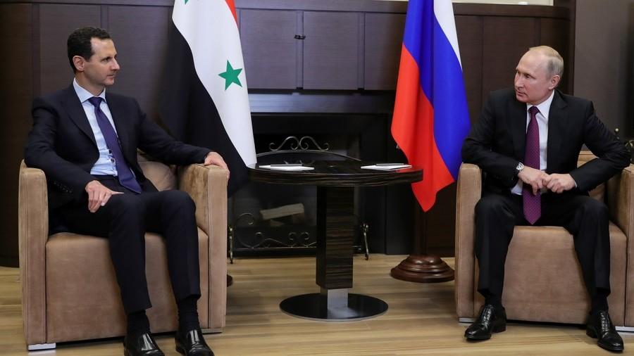 РТ: Путин и Асад разговарали о решеавању сиријске кризе