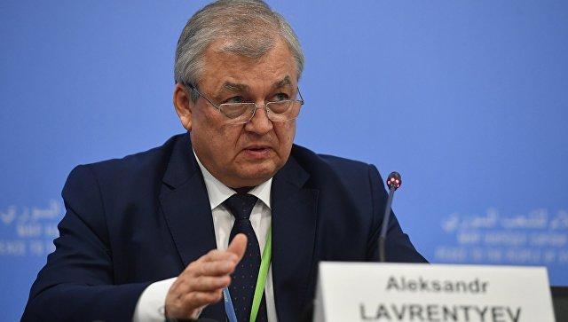 Lavrentjev: Ceo inostrani vojni kontingent mora da izađe iz Sirije