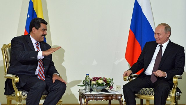 Путин честитао Мадуру на поновном избору за председника