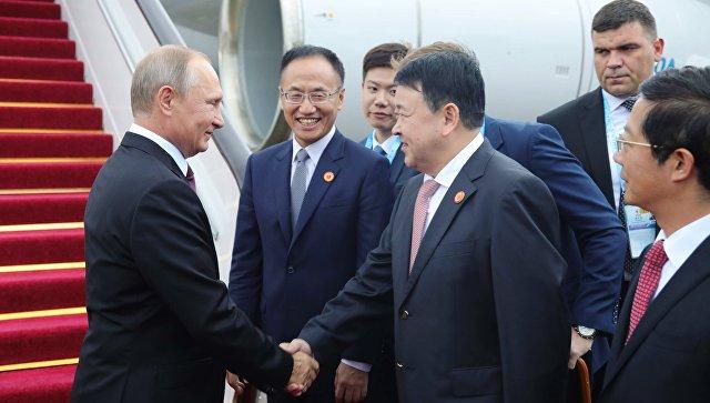 Председник Путин у Кини од 8. до 10. јуна