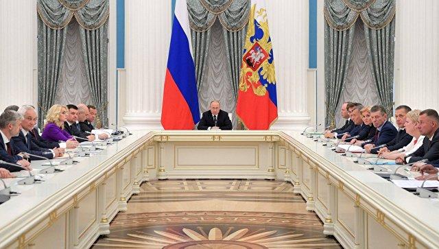 Путин: Од реализације задатака Владе зависи будућност Русије без претеривања