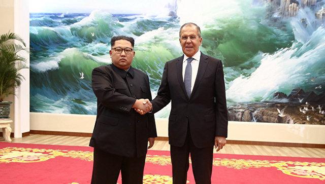 Лавров се састао са Ким Џонг Уном